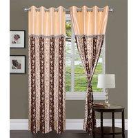 HomeSazawat Set Of 2 Beautiful Eyelet Door Curtain(4x7ft) - 6632168