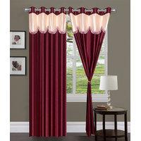 HomeSazawat Set Of 2 Beautiful Eyelet Door Curtain(4x7ft)