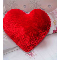 Velvet Heart Red Cushion Valentine Cushion(1 Piece Only)