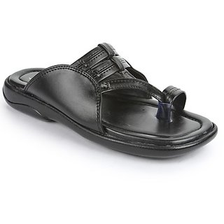 Coolers Mens Classy Black Formal Slippers