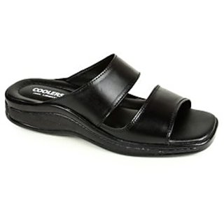Coolers Classic Mens Black Formal Slippers