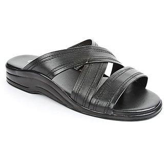 Coolers Urbane Mens Black Formal Slippers