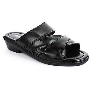 Coolers Mens Nice Black Formal Slippers