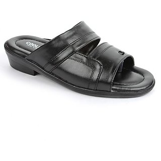 Coolers Mens In Vogue Black Formal Slippers