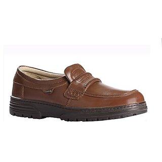 Windsor Mens Brown Comfort Shoes