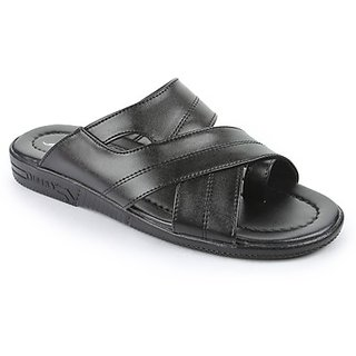 Coolers Mens Instyle Black Formal Slippers