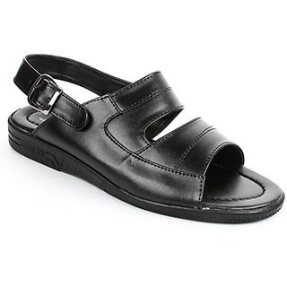 Coolers Mens Awesome Black Formal Slippers
