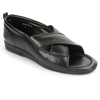 Coolers Mens Black Formal Sandal