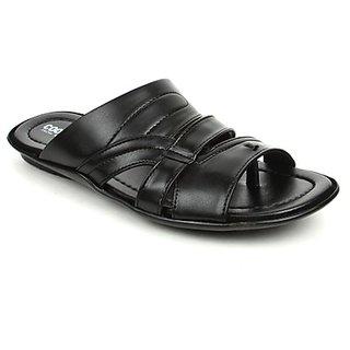 Coolers Mens Trendy Black Formal Slippers