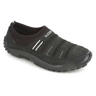 Gliders Mens Black Casual Shoes