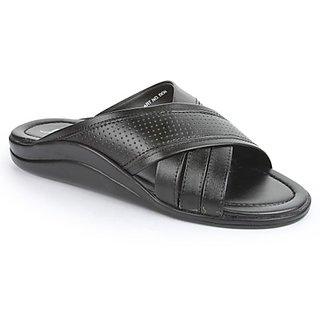 Coolers Mens Black Formal Slippers