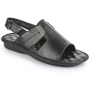 Coolers Mens Black Comfort Sandal