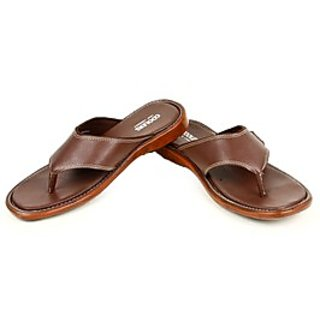 Coolers Classy Mens Brown Casual Slippers