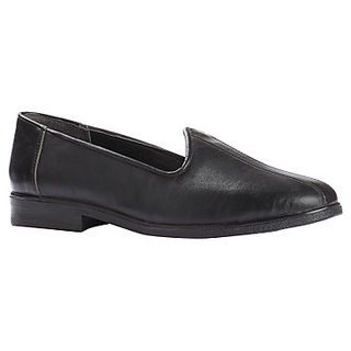 Fortune Mens Black Casual Shoes