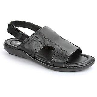 Coolers Classy Mens Black Formal Sandal
