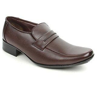 Fortune Mens Brown Formal Shoes