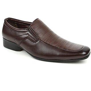Fortune Voguish Mens Brown Formal Shoes