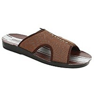 Coolers Trendy Mens Brown Casual Slippers