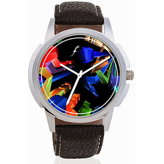 The 3D Geometry Watch By Foster's.-(AFW0000885)