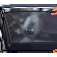 Car Window Sunshade/Curtain Car Curtain Of Honda Brio 4 Pcs Set