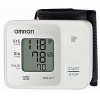 Omron Hem-6121 Digital Blood Pressure Monitor+ Blood Pressure Magnetic Bracelet  Free