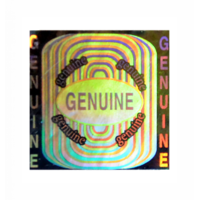 Hologram Stickers-Genuine Genuine -15mm X 15mm Square (10,000 Stickers Per Pack)