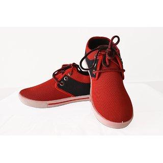 Wiser Men Shoes In Bk-red Color