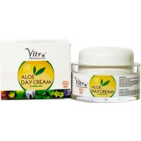 Vitro Naturals Certified Organic Aloe Day Cream 50 Gm