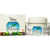 Vitro Naturals Certified Organic Aloe Night Cream 50 Gm