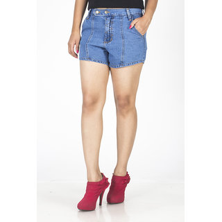 TrendBAE Trendy Hot Pants - Blue