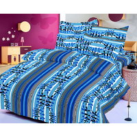 Collections Color Of Dream 100% Cotton Double Bedsheet - 6708278
