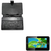 Datawind Ubislate 7C+ Edge Tablet With Keyboard