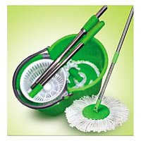 EASY MOP, Magic Mop 360 DEGREE ROTATING +2 MOP HEADS - 6709294