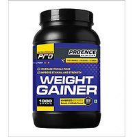 Proence Nutrition Weight Gainer-1 Kg Vanilla Flavour (free Shaker)