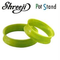 SHREEJI HOT AND COOL MULTIPURPOSE POT STAND (Set Of 2)