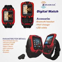 Mobile GSM Wrist Watch Dual Sim (Ken Xinda)