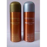 Combo OF 2 ETERNAL Love Deodorant Night Time For Men & Women (Deo) 200Ml Each