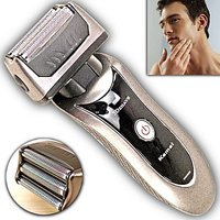 Cordless Electric Rechargeable Men's Shaver With Pop-Up Trimmer - 6723046