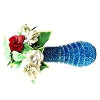 Anshul Fashion Glass Flower Vase /office Purpose Flower Vase/badroom Flower Vase