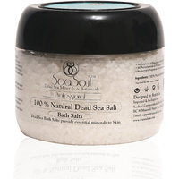 Dead Sea Mud Bath Salt Soak - Muscle Tension / Mosturizer / Ease Muscle Tension
