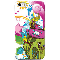 Snooky Digital Print Hard Back Case Cover For Apple Iphone 5s 5g - 6767106