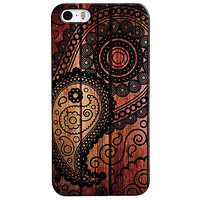 Snooky Digital Print Hard Back Case Cover For Apple Iphone 5s 5g - 6768676