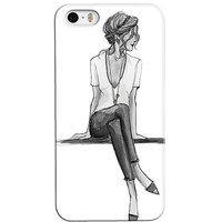 Snooky Digital Print Hard Back Case Cover For Apple Iphone 5s 5g - 6769982