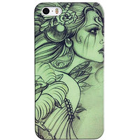 Snooky Digital Print Hard Back Case Cover For Apple Iphone 5s 5g
