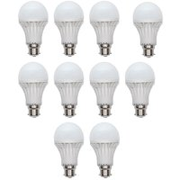 LED Bulb 7 Watt Set Of 10 Pcs