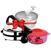 BUTTERFLY Roti Maker COMBO(Dough Maker & Casserol)