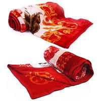 Premium Comfort Designer Single Bed Blankets Pair 1022