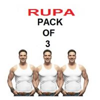 Rupa Sleeveless Vests - Pack of 3