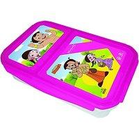 Chhota Bheem Plastic Lunch Box - 6782268
