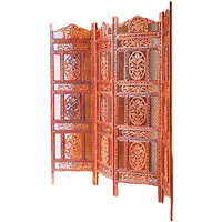 Wooden Partition Screen / Room Divider In Rosewood